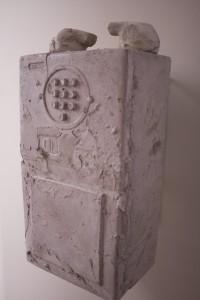 Fóssil, 2011, cimento. 36x20x13cm, edição de 20