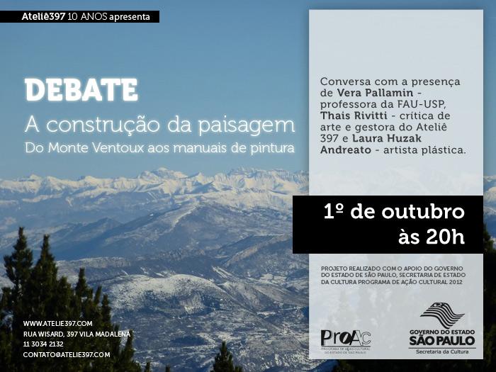 Convite para o debate com Laura Andreato
